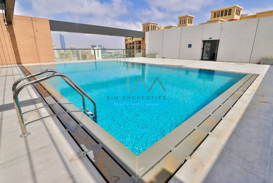 11 1 Month free | Fully Furnished 2 Bedroom Wd Maid | Brand New | Jaddaf