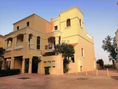 4 Bedroom Townhouse for Sale in Al Hamra Village, Ras Al Khaimah - Best Villa 4 Bedroom+maid's room Unfurnished