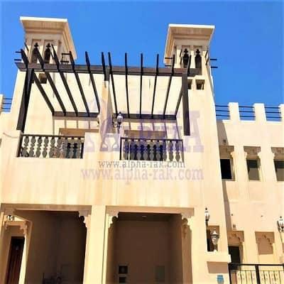 فیلا 3 غرف نوم للبيع في قرية الحمراء، رأس الخيمة - 3 BEDROOM | COMMUNITY/GARDEN VIEW - UNFURNISHED