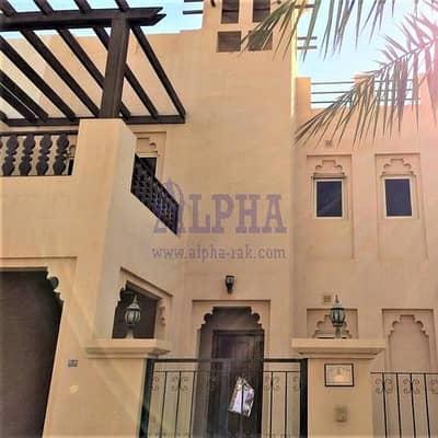 4 Bedroom Villa for Sale in Al Hamra Village, Ras Al Khaimah - Wonderful villa | 4 Bedrooms | Unfurnished