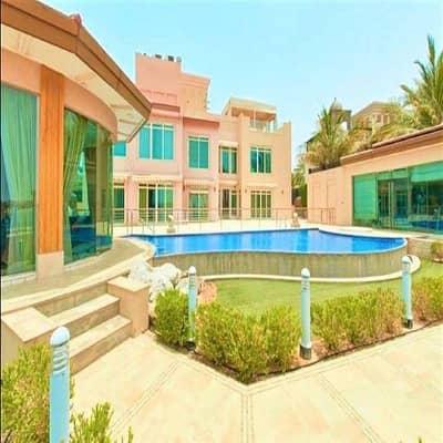 فیلا 6 غرف نوم للبيع في قرية الحمراء، رأس الخيمة - Beach Front Villa | 6 BR | Fully Furnished!