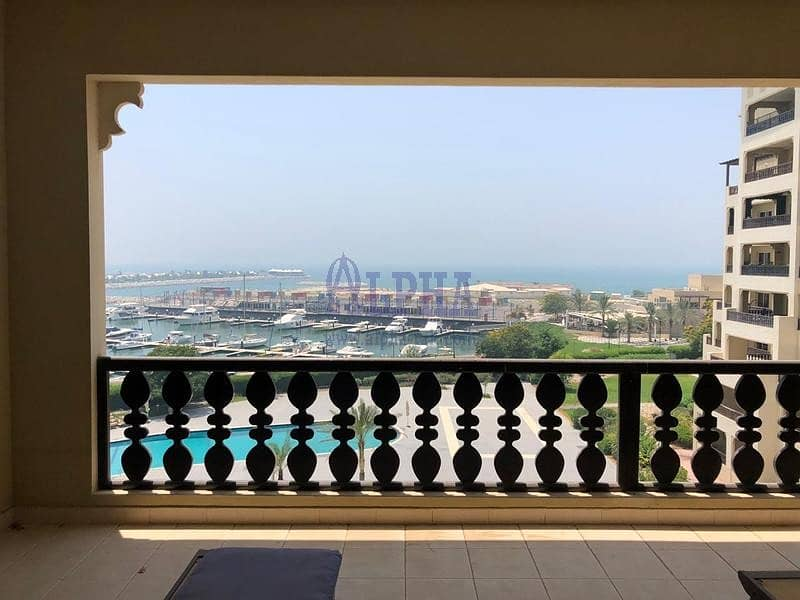 2 Bedroom Spectacular Marina View! Furnished!