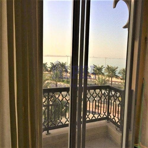 2 Stunning Sea View | 1 Bedroom Unfurnished Unit