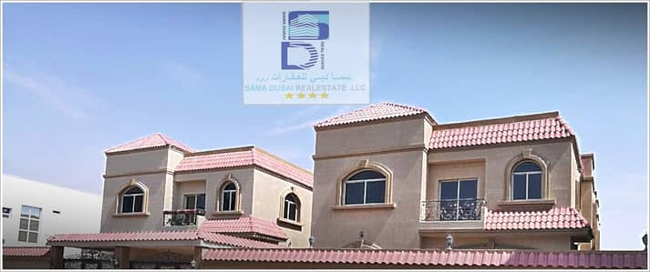 5 Bedroom Villa for Rent in Al Rawda, Ajman - Villa for rent, second inhabitant with air conditioning, very clean, all finishes and decorations, Superdelux only 75000 negotiable