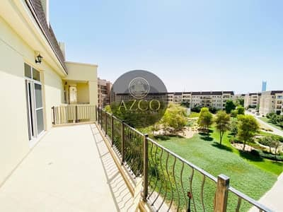 1 Bedroom Flat for Rent in Motor City, Dubai - GARDEN VIEW| HUGE BALCONY | BIGGEST LAY-OUT