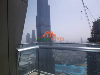 3 Bedroom Flat for Rent in Downtown Dubai, Dubai - Very High Floor| Burj Khalifa And Fountain View.