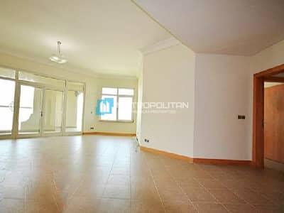 شقة 3 غرف نوم للايجار في نخلة جميرا، دبي - Excellent price I 3 BR on high floor I Unfurnished