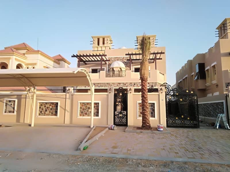 Villa for sale with classic architectural design, super deluxe finishing