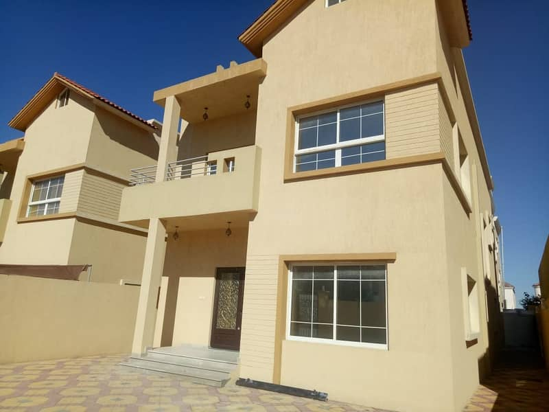 Villa for rent the most luxurious villas in Ajman near the schools of Choueifat and services