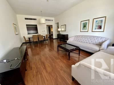 2 Bedroom Flat for Rent in Jumeirah Lake Towers (JLT), Dubai - SPACIOUS 2 BR + MAIDS ROOM | FURNISHED / CHILLER FREE