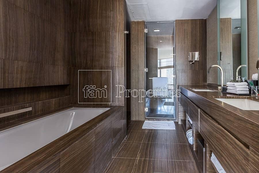 15 1BR Furnished  Apt.    Armani Residences