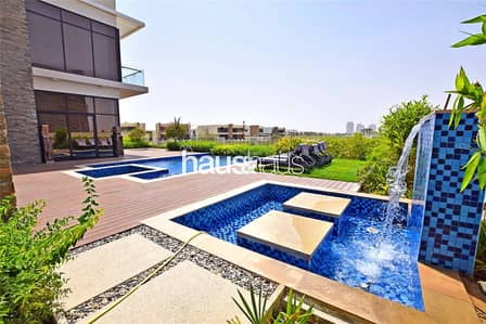 6 Bedroom Villa for Rent in DAMAC Hills (Akoya by DAMAC), Dubai - Private Pool| Fully Furnished| Golf and Lake Views