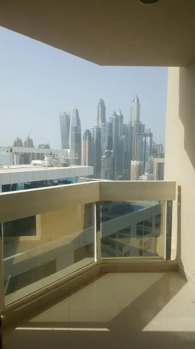 3 Bedroom Apartment for Rent in Jumeirah Lake Towers (JLT), Dubai - SEMI FURNISHED 2 BHK + STUDY ONLY 65K