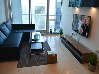 1 Bedroom Apartment for Sale in Jumeirah Lake Towers (JLT), Dubai - Bright Layout I Vacant I High Floor I Lake View