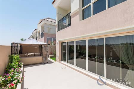 3 Bedroom Townhouse for Sale in Jumeirah Golf Estate, Dubai - 3 Bed | Big Corner Plot | Secondary Market