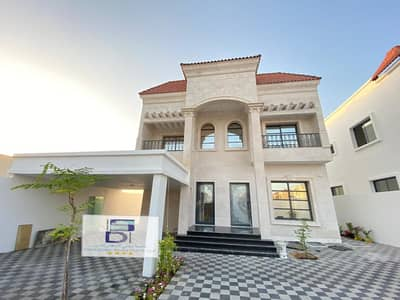 5 Bedroom Villa for Sale in Al Zahraa, Ajman - Modern villa for sale in European finishes freehold for all nationalities and an excellent location