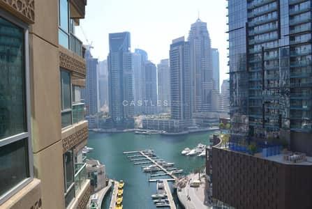 3 Bedroom Flat for Rent in Dubai Marina, Dubai - Spacious 3BR with amazing marina view