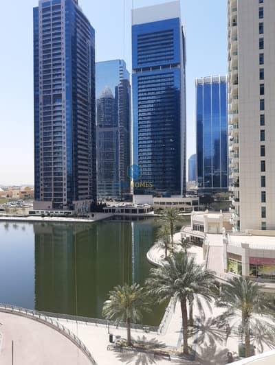 استوديو  للايجار في أبراج بحيرات الجميرا، دبي - Spacious Studio | Chiller Free|Balcony|Lake View