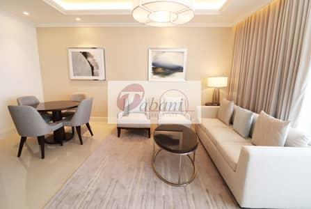 شقة 1 غرفة نوم للايجار في وسط مدينة دبي، دبي - On a  High floor with Unobstructed  Amazing view