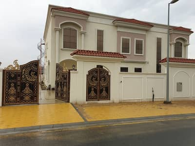 5 Bedroom Villa for Rent in Al Tai, Sharjah - For rent, folding area, villa, first inhabitant, personal finishing
