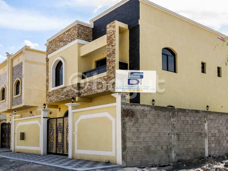 Modern villa with ِAttractive Specifications and Great Finishing at an Ideal Price