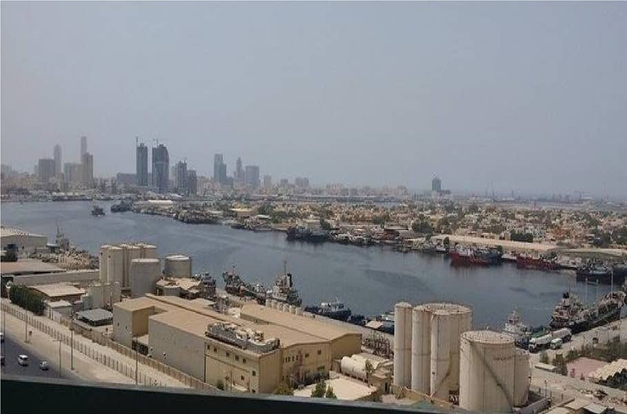 Sea View 1 Bedroom Hall with Parking in Ajman Pearl Tower