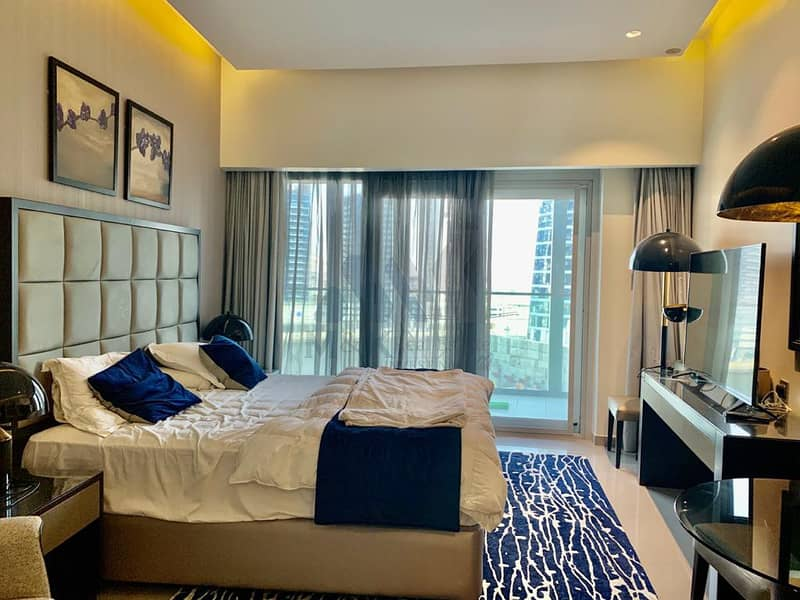 Largest Studio | Fully Furnished | Canal View