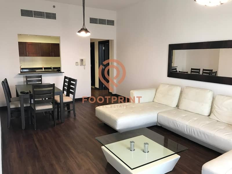 Chiller Free   1 BR Ready to Rent   Furnished   70K.