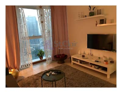 1 Bedroom Apartment for Rent in Jumeirah Lake Towers (JLT), Dubai - Amazing Fully Furnished 1BHK Near Metro