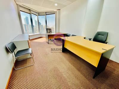 Office for Rent in Al Khalidiyah, Abu Dhabi - Supreme Excellent Offices In the City With  Attractive Interior