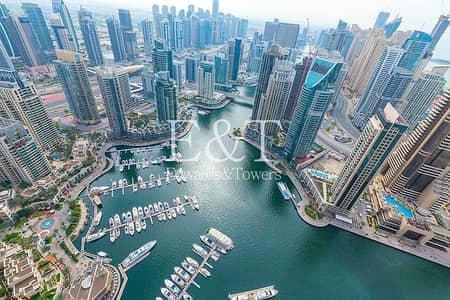 شقة 3 غرف نوم للبيع في دبي مارينا، دبي - Luxury Furnished | Panoramic Marina and Sea View