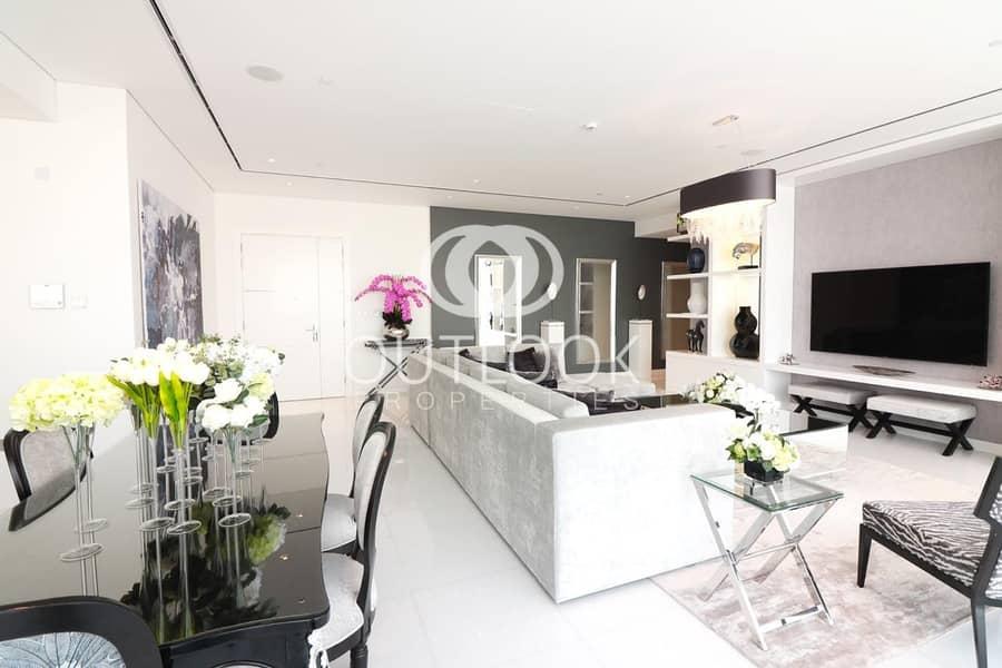 Luxurious 4BR Duplex | Massive Space | Pool View