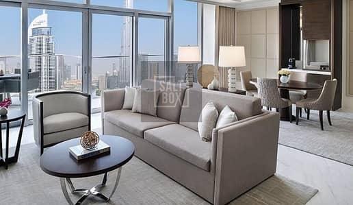 شقة فندقية 2 غرفة نوم للايجار في وسط مدينة دبي، دبي - Hot Offer | All Inclusive | Fully Furnished and Serviced | Address Fountain View | 4 CHQS