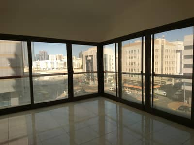 3 Bedroom Flat for Rent in Airport Street, Abu Dhabi - Negotiable Rent / Spacious and Renovated Flat with Maids Room in Airport Area
