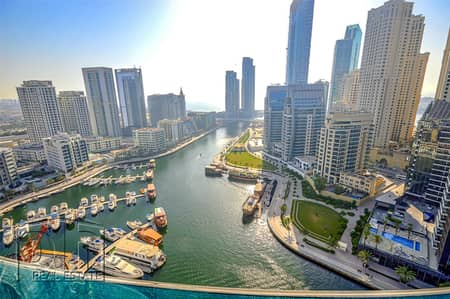 3 Bedroom Flat for Rent in Dubai Marina, Dubai - 3 Bedrooms | Upgraded | Fully Furnished