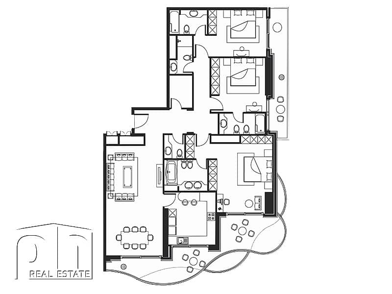 10 3 Bedrooms | Upgraded | Fully Furnished