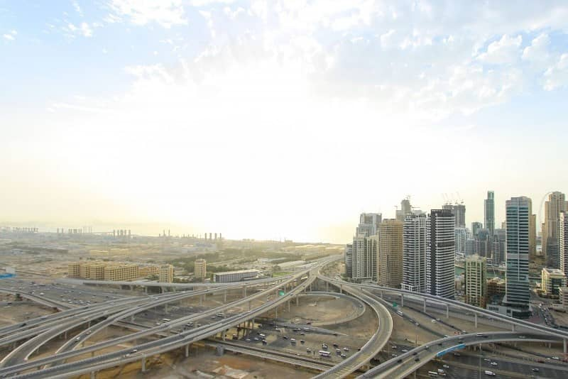 2 3BR Unit in JLT | SZR and Sea Views | Vacant Now