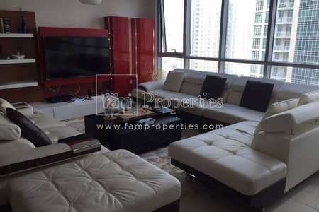 Fully Upgraded 2BHK w/ Burj Khalifa View