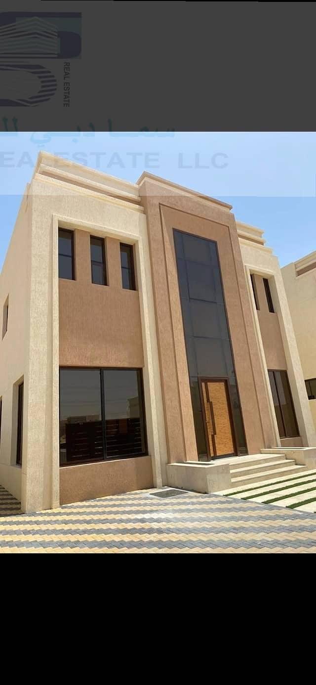 للبيع من افخم وارقى الفلل في سوق عجمان بتشطيبات بتصميم معمارى عربى بافضل التشطيبات والديكورات العصريه الحديثه وسعر ممتاز جدا