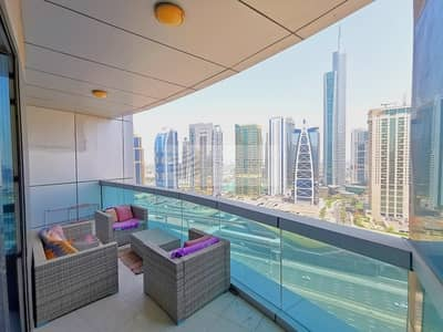 4 Bedroom Flat for Rent in Dubai Marina, Dubai - Huge Furnished 4BR+Maid's| Beautiful Views| Vacant