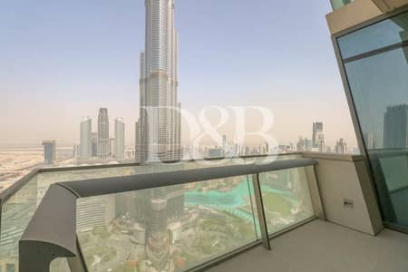 3 Bedroom Apartment for Rent in Downtown Dubai, Dubai - Largest Layout   Type 05   High Floor Apartment