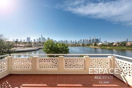فیلا 4 غرف نوم للبيع في السهول، دبي - Full Lake View | Four Beds with Nice Pool