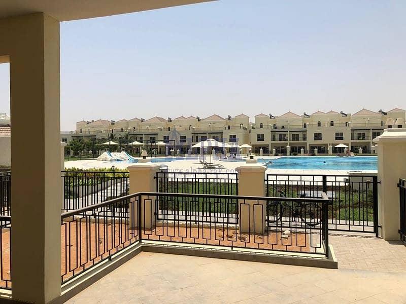 Large Pool Area View | 4 BR Bayti Villa