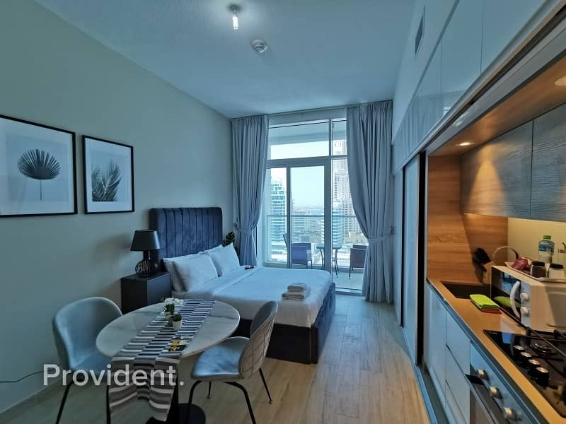 2 Fully Furnished Studio with Marina Views