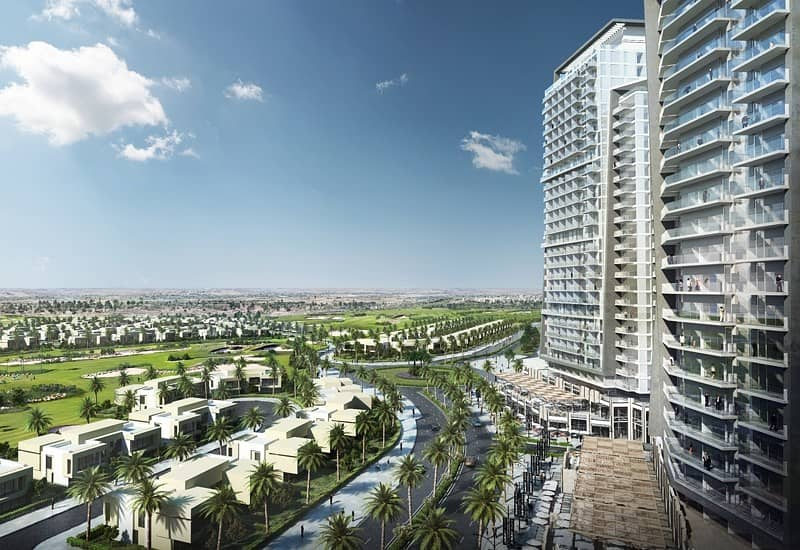 2 Price Discounted! | Stylish Large 1BR  Apartment for sale in Damac Hills | Attractive Payment Plan