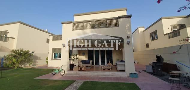 4 Bedroom Villa for Sale in Jumeirah Park, Dubai - Best Location in Jumeirah Park 4 Bed Regional Villa with beautiful garden and pool