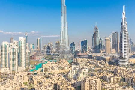 Large 3BR-Great Burj and Fountain Views!
