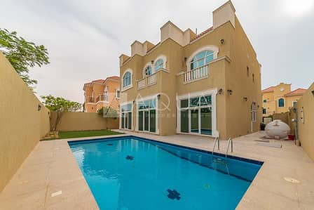 5 Bedroom Villa for Rent in The Villa, Dubai - Custom 5 Beds Room Villa pool and Garden