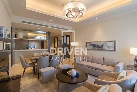 شقة 2 غرفة نوم للايجار في وسط مدينة دبي، دبي - Brand New 2 Bed Apt with Burj Khalifa View