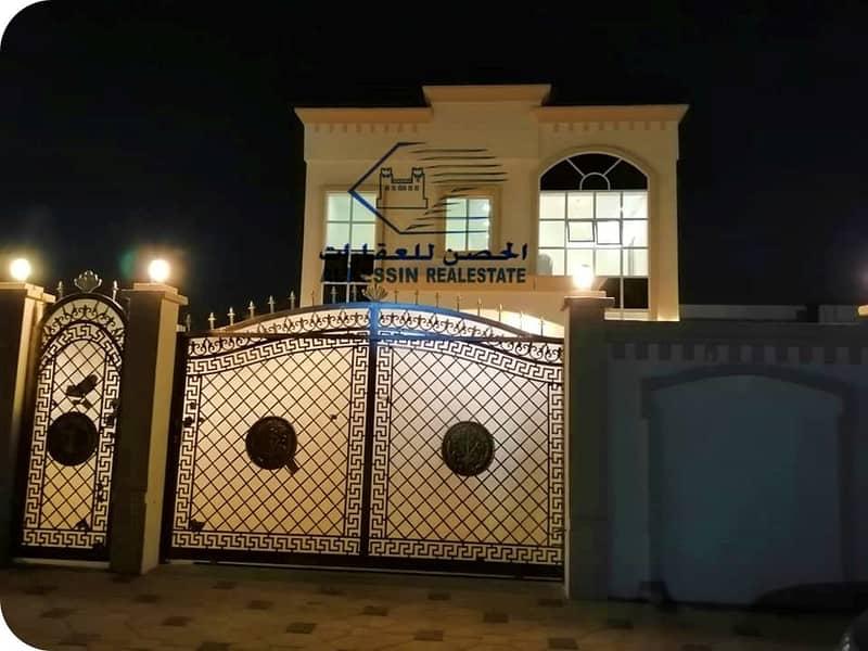 Villa for rent in the emirate of Ajman in the new Al-Raqayeb